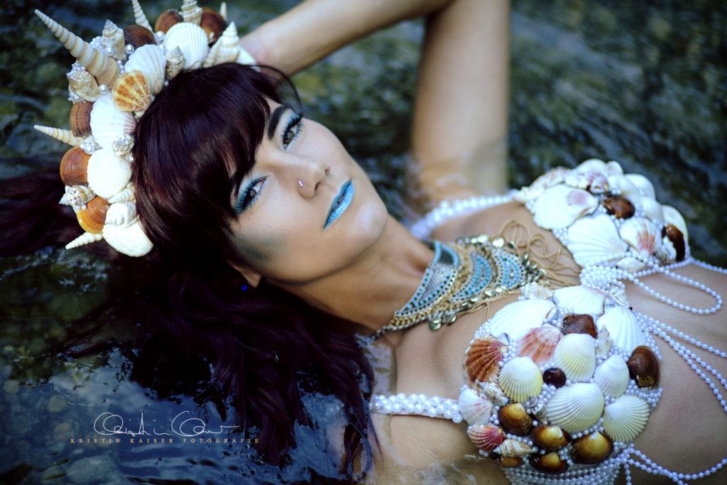meerjungfrau portraitiert fotograf