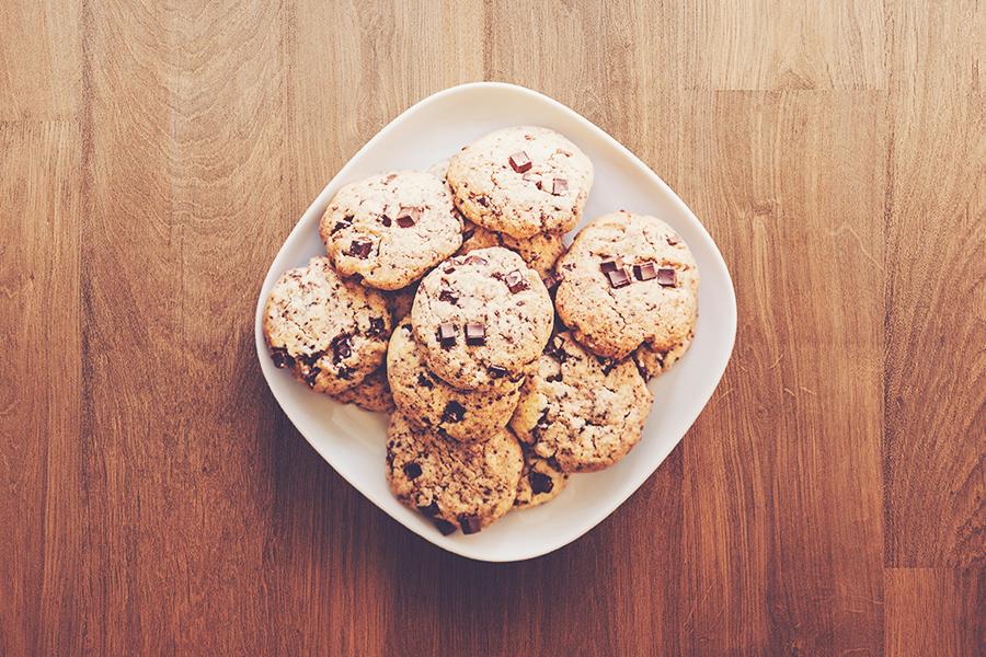 schoko cookies für tortenboden