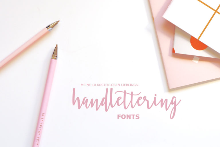 handlettering fonts for free