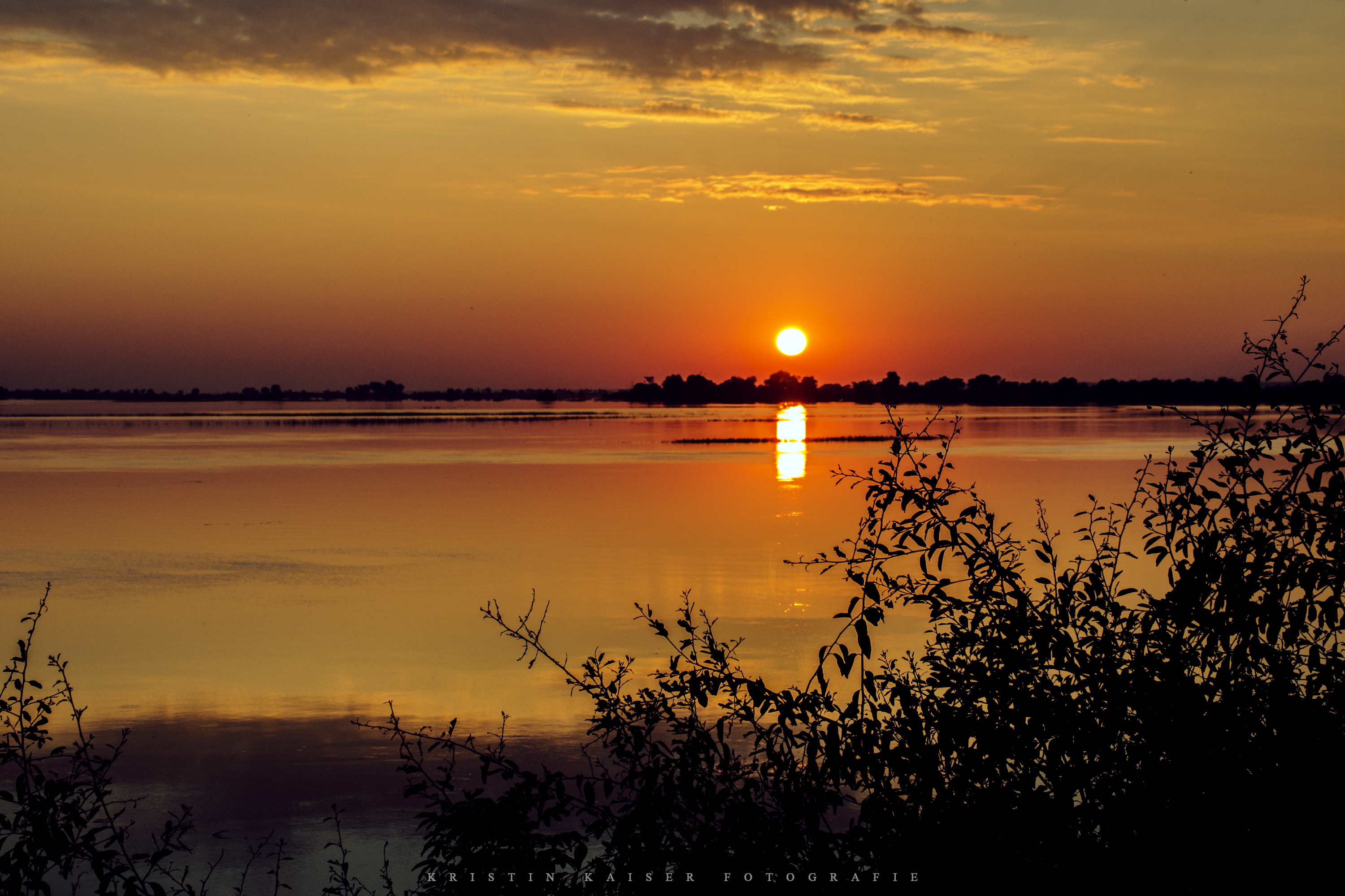 Sunrise at Chobe River Front
